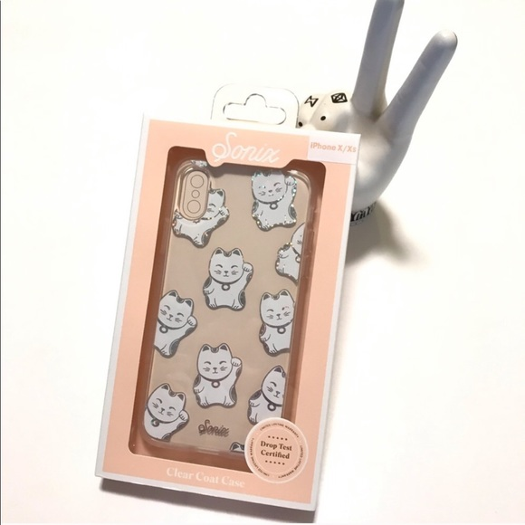 Sonix iPhone X Xs Case Cover Lucky Cat
